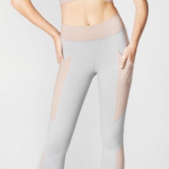 Yoga Capri Leggings Rose Quartz